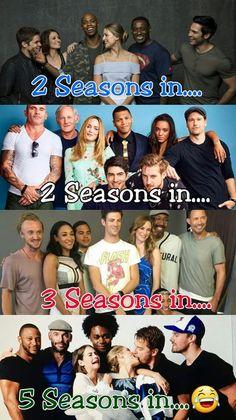 I️ freaking love the Arrow cast