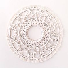 Large Macrame Mandala Wall Hanging » Macrame Decor » Boho Decor » Wall Art » Mandala by WildCloveCo on Etsy https://www.etsy.com/au/listing/557209566/large-macrame-mandala-wall-hanging