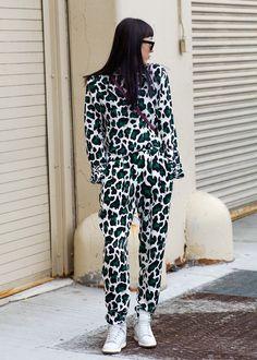 New York Fashion Week street style #NYFW Pre-Phillip Lim