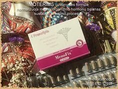 SANTEGRA - MenoFix™ 60 kaps- Kekinė blakėžudė. Unikalus kompanijos Santegra® produktas - MenoFix™ vitaminų ir natūralių augalinių ingredientų kompleksas, tradiciškai naudojamas liaudies medicinoje. MenoFix™ gali padėti palengvinti priešmenstruacinio sindromo reiškinius, normalizuoti menstruacinį ciklą, kad moteris galėtų puikiai jaustis kiekvieną dieną!