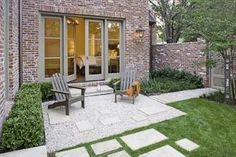 Yes - Gravel/ Stone/ Grass Patio | CHECK OUT MORE GRAVEL PATIO FURNITURE IDEAS AT DECOPINS.COM | #Gravel Patio #gravelpatio #gravelpatios #diypatio #diypatioideas #patio #installingpatiopavers #patiospinterest #brickpatiodesigns #paverpatiodesigns #paverpatio #stonepatio