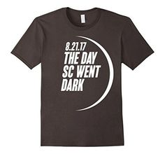 2017 Solar Eclipse August 21st South Carolina T-Shirt...