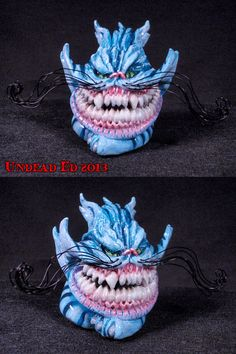 Cheshire Cat Glass Pipe For Sale