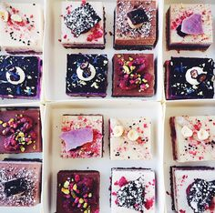 Pana Chocolate in Melbourne have created these unbelievably gorgeous looking vegan cakes. Love to try one.