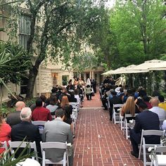 We Loved The Outdoor Ceremony Had On Our Patio This Past Weekend Spring Time Sterling Hoteloutdoor