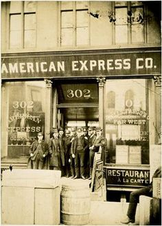 1885, American Express New York City (Canal Street) Office. NYC remains home to our Global headquarters today.