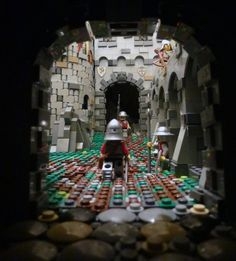 Legos, The Hobbit Game, Amazing Lego Creations, Lego Design, Lego Worlds, Lego Architecture, Lego Stuff, Lego Moc, Lego Building