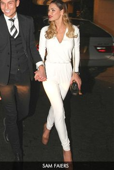Sam Faiers in the Paige Jumpsuit from Gorgeous Couture