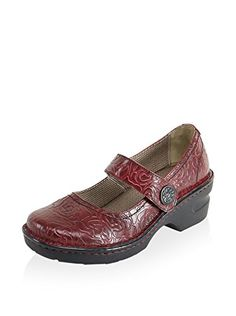www.myhabit.com  Casual rounded toe style with an etched button closure, memory foam insole, shock absorbent outsole