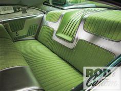 1960 Dodge Phoenix Backseat