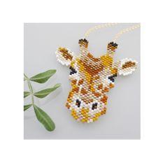 Schema Collier Edith la girafe en perles miyuki par Mon petit bazar