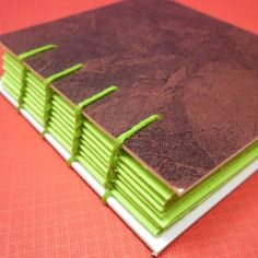 colored binding + solid cover