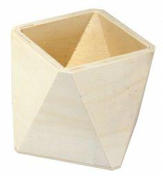 Holz-Box, Octagon, 7x7x7 cm « Holz Boxen, Tabletts, Teller, Vasen & Co.