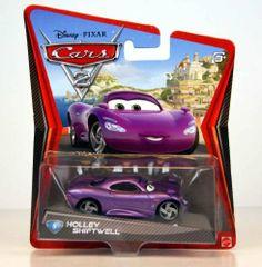 Disney / Pixar CARS 2 Movie 155 Die Cast Car #5 Holley Shiftwell by MATTEL, http://www.amazon.com/dp/B004USLP48/ref=cm_sw_r_pi_dp_mo2vrb1258P4H
