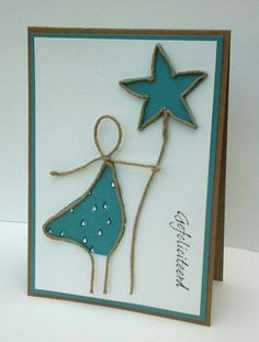 Papier+draad=kaart Paper Cards, Diy Cards, Wire Crafts, Christmas Crafts, Paper Folding Crafts, Wire Art Sculpture, Diy Art Projects, Unique Cards, Scrapbook Cards