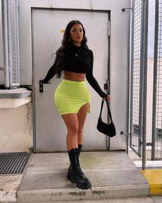 This @fashionnova fit 🤪 fashionnovapartner *ad Different, Leather Skirt, Mini Skirts, Culture, Female, Unique, Outfits, Anatomy, Club