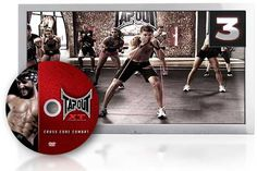 TapouT XT DVD Cross Core Combat- Melt away fat MMA style as you punch and kick your way to a shredded core in this hard twisting crack of the skull workout.
