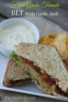 Blog post at The Taylor House : I love a good simple, basic BLT- we eat them quite often. But sometimes even your favorite go to meal needs a little dressing up, in this ca[..]