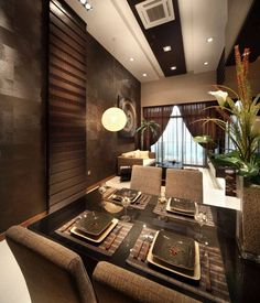 Balinese Ethnic Living Room Design