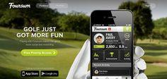 Foursum Website is a Web Design Inspiration App Store Google Play, Best Web Design, App Ui Design, More Fun, Golf, Design Inspiration, Activities, How To Make, Wave