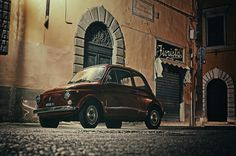 fiat 500 photos italie, florence, rome