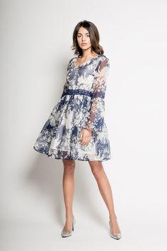 8dc7b2e011 YUUKO – JEDWABNA SUKIENKA COCKTAILOWA Koktajlowa sukienka wykonana z  najwyższej jakości jedwabiu naturalnego 100%.
