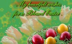 Celebrate this Easter 2020 by sharing Happy Easter Greetings Wishes with Messages & Quotes to friends, loved ones - Wishing everyone a Happy Easter 2020 Easter Greetings Messages, Happy Easter Greetings, Greetings Images, Easter Wishes, Easter Specials, Rejoice And Be Glad, Easter 2020, Friends Image, Card Sayings
