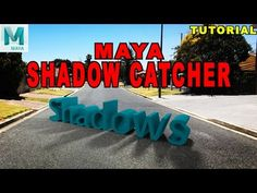 Maya Tutorial: How To Use Arnold Shadow Catcher Material - YouTube