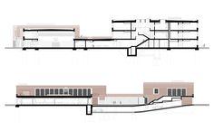 "Image 30 of 31 from gallery of School and Community Center ""B³ Gadamerplatz"" / Datscha Architekten. Sections"