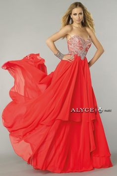 Alyce Paris | Prom Dress Style #6443 Front View