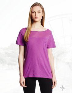 NYDJ Women's Veiled Knit Top