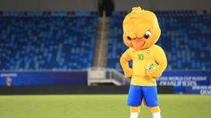 Em Natal, CBF lança Canarinho, o mascote da seleção brasileira #globoesporte