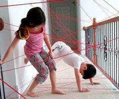25 ideas baratas de actividades para niños