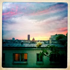 View from my window.  Paris, France. Taken with Hipstamatic.
