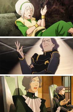 """It's a Beifong thing"" - woah I never noticed!"