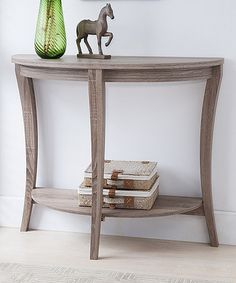 Love This Light Oak Tankers Console Table On #zulily! #zulilyfinds