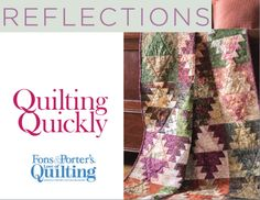 How to Make the Reflections Quilt