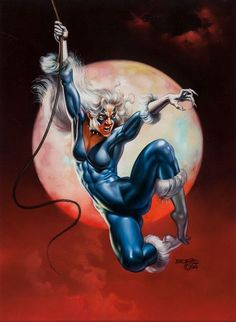 Black Cat by Boris Vallejo
