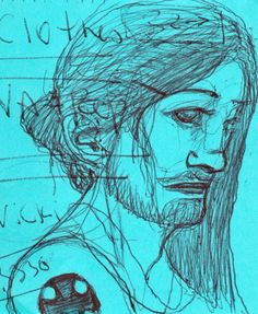 Kaput. Drawing by Consti*