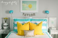 Project Nursery - Honey-and-Fitz-Taylor's-Room-Bed2