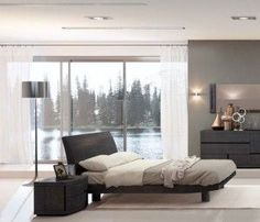 Minimalist bedroom furniture by er Fazzini