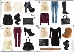 THE FASHION ISLE - How-To: Wear A Faux Fur Vest