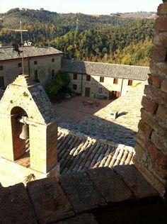 Castello della Sala vista della Corte interna