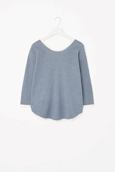 COS   Low-back cotton jumper