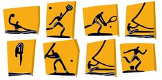 2004 Athens Olympic Games Pictograms