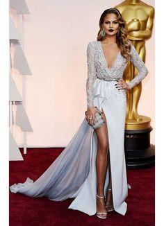 Chrissy Teigen - Zuhair Murad - 2015 Oscars