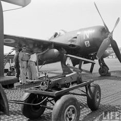 The French in Indochina, servicing an American-made Bearcat.