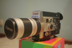 Canon 1018 super8 film camera