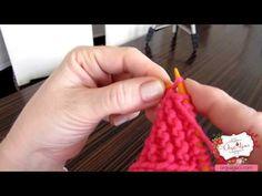 Yaprak Modeli Nasıl Yapılır - Bölüm 2 - YouTube Knitting 3d leaf pattern