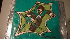 *GOUX 'R' MANDISES: Gâteau green lantern